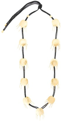 Josie Natori Tulip cord necklace