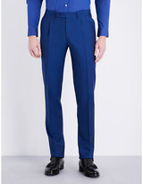 Canali Regular-fit Wool And Mohair-blend Trousers