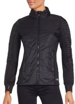 Calvin Klein Collection Two-Tone Performance Jacket