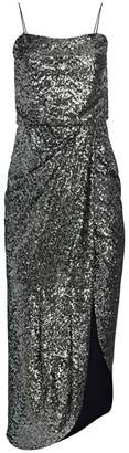 Derek Lam 10 Crosby Lexis Sequin Side Slit Sheath Dress