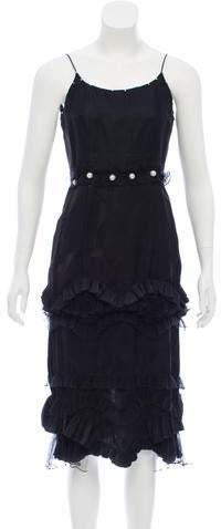 Marc Jacobs Embellished Midi Dress