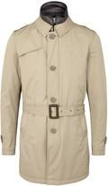 Herno Stone Twill Trench Coat
