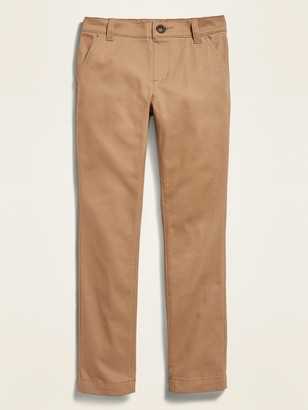 Old Navy Uniform Stretch Stain-Resistant Skinny Khakis for Girls