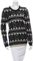 Etoile Isabel Marant Patterned Mohair Sweater