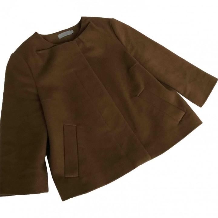 Cos Camel Wool Jacket for Women
