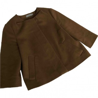 Cos Camel Wool Jacket for Women