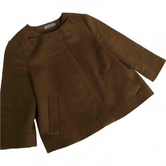 Cos \N Camel Wool Jacket for Women