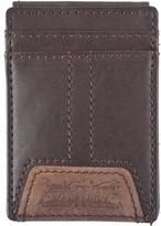 Levi's Brown Magnetic Leather Wallet
