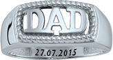FINE JEWELRY Personalized Men's Dad Ring