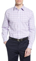 Nordstrom Tech-Smart Traditional Fit Stretch Windowpane Dress Shirt