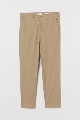 H&M Regular Fit Cotton Chinos
