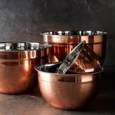 Williams-Sonoma Williams Sonoma Copper Mixing Bowls