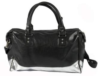 Little Company ci06.00 Nappy Bag, City Bag, Color: Black with Silver