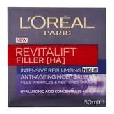 L'Oreal Revitalift Filler [HA] Intensive Replumping Anti-Ageing Nigh 50 mL