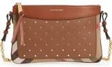 Burberry Peyton Studded Leather Crossbody Bag