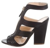 Jerome C. Rousseau Quilted Cage Sandals