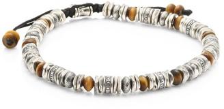 Jonas Studio Dakota Sterling Silver & Tiger Eye Beaded Bracelet