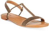 Style&Co. Style & Co. Kristee T-Strap Flat Sandals, Only at Macy's