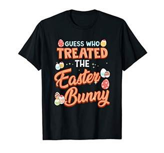 GUESS Who Treated The Easter Bunny Veterinarian Funny Gift T-Shirt