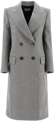 Alexander McQueen Prince Of Wales Double-Breasted Coat