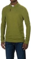 Ibex Waffle-Knit Shawl Collar Shirt - Merino Wool, Long Sleeve (For Men)