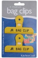Kitchen Craft Plastic Bag Clips Medium, Set of Two (Colours may vary)