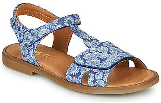 GBB FARENA girls's Sandals in Blue