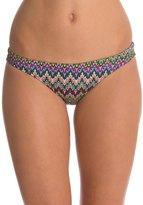 EQ Swimwear Retro Flames Poly Streamline Bikini Bottom 8119063
