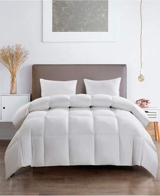 Serta Light Warm White Goose Feather Down Fiber Comforter Full/Queen