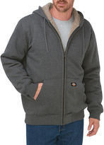 Dickies Men's Sherpa-Lined Fleece Hooded Jacket - Big & Tall