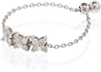 Anissa Kermiche 14kt white gold Bronte Dore diamond ring