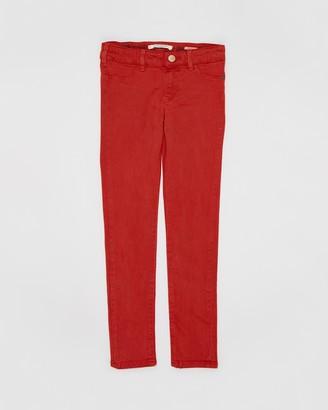 Scotch R'Belle Super Skinny Fit Garment Dyed Pants - Teens