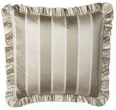 """Jane Wilner Designs Striped Neckroll Sham, 6"""" x 16"""""""