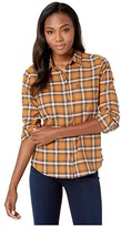 Aventura Womens Sheridan Long Sleeve Flannel Shirt