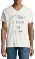 Sol Angeles El Paso V-Neck T-Shirt, White