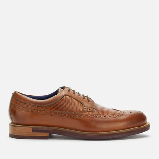 Ted Baker Men's Dylunn Leather Brogues - Tan