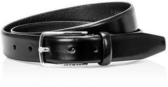 HUGO BOSS Men's Chuck Hand Brushed Leather Belt