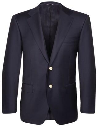 Canali Gold-Button Blazer