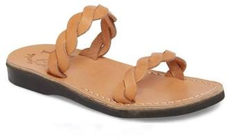 Jerusalem Sandals Women's Leather Strap Sandals- Joanna