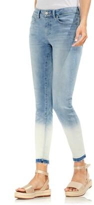 Vince Camuto Ombre Released Hem 5 Pocket Ankle Jeans