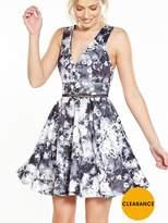 Miss Selfridge Photographic Print Prom Dress