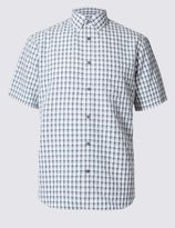 Marks and Spencer Modal Rich Easy Care Shirt with Pocket