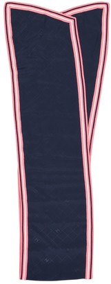 Chanel Navy Silk Scarves