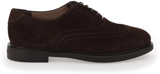 Salvatore Ferragamo Suede Lace-Up Shoes