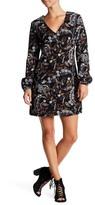 WAYF Malone V-Neck Sheath Dress