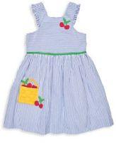 Florence Eiseman Toddler's & Little Girl's Mixed Striped Seersucker Dress