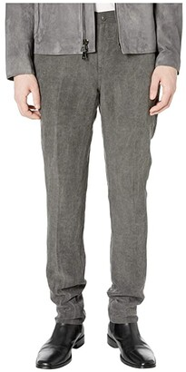 John Varvatos Collection Motor City Fit Jeans with Zip Fly in Metal Grey J293W1 (Metal Grey) Men's Jeans