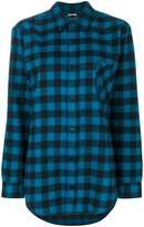 Adaptation tartan motif shirt