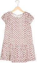 Burberry Girls' Silk Geometric Print Dress