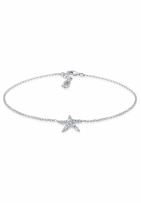 Elli 925 Sterling Silver Starfish with Swarovski Crystals Maritime 0706581416_22